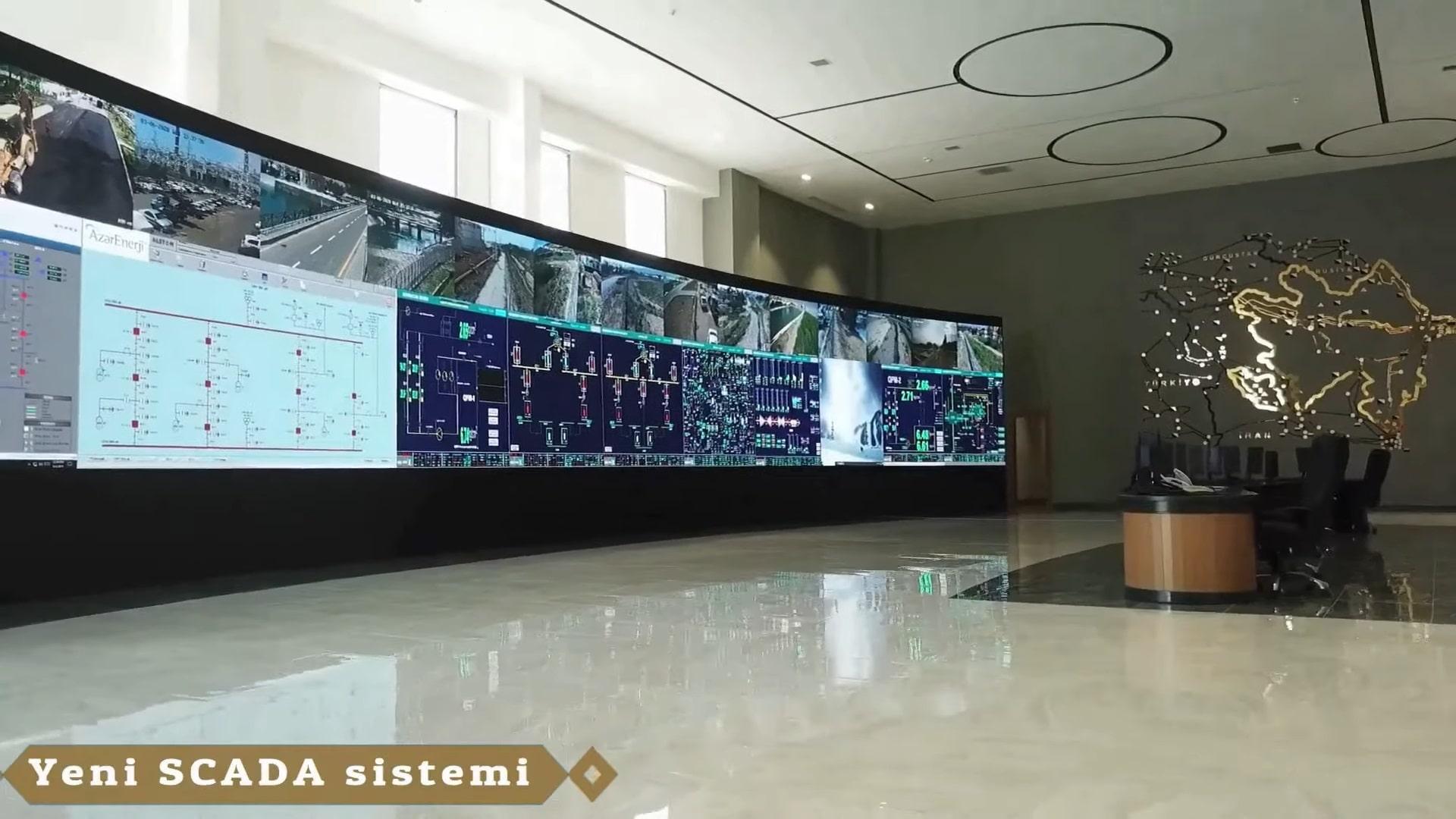 Azərenerji SCADA sistemi